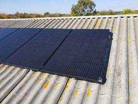 Panneaux solaires installer par Maison Confort