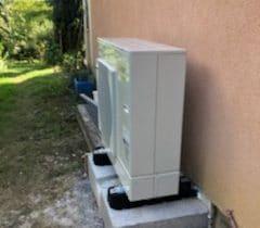 unité extérieure pompe à chaleur Air-Eau Castres