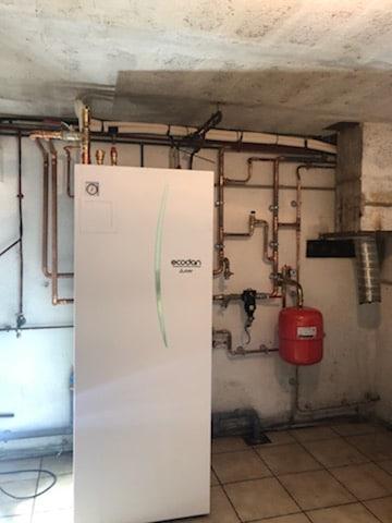 Chaufferie pompe à chaleur Air-Eau Castres 81 100 Tarn